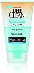 Neutrogena Deep Clean Shine Control Scrub 125mL