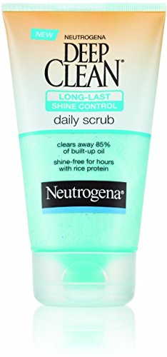 Neutrogena Deep Clean Long-Last Shine Control Daily Scrub 4.20 oz (Pack of 3)