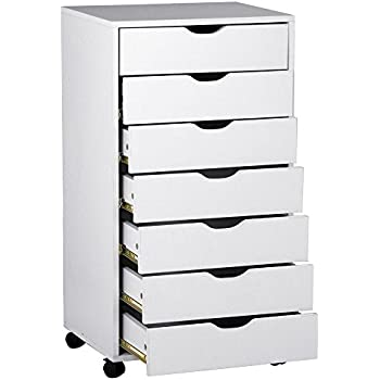 Amazon.com: Winsome Halifax Cabinet for Closet/Office, 5 Drawers ...
