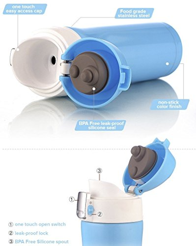 Gevalia Coffee Maker Leaks : Insulated Stainless Steel Vacuum Flask Travel Mug Leak Proof Beverage Thermos 16 Oz Hydration ...