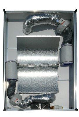 Komplettset Growbox Growzelt Growschrank G-Tools G-Kit 1200 Wing