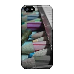 Durable Bullet Pencil Back Case/cover For Iphone 5/5s