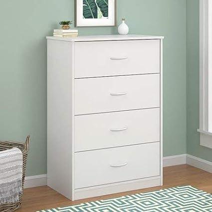 Amazon Com 4 Drawer Dresser White Kitchen Dining