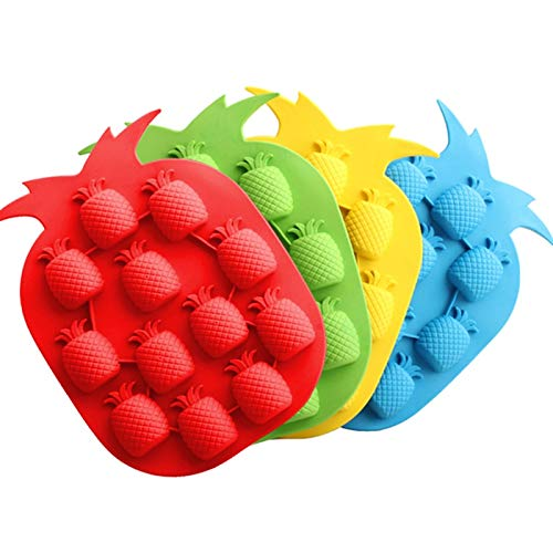 Ants-Store - Kitchen gadgets Pineapple Shape Ice Tray Mold Maker Novelty Ice Cream Tools Cube Freeze Drink DIY Mold Party kitchen accessories]()