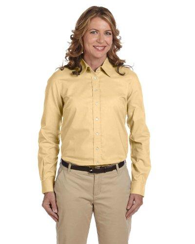 Chestnut Hill Women's Performance Plus Oxford Shirt, white, ()