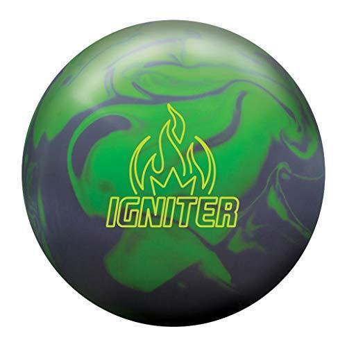 Brunswick-Igniter-Solid-Bowling-Ball-Lime-GreenGrey-15lbs