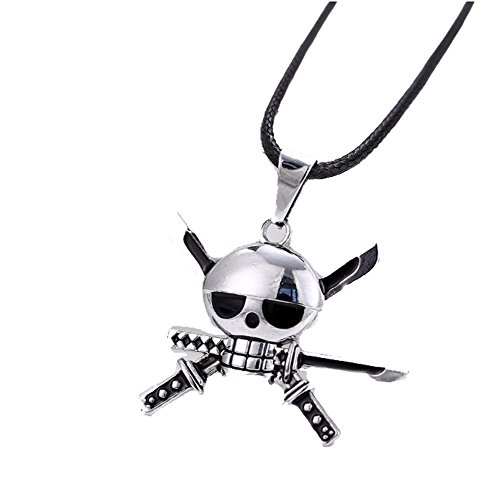 one piece ace necklace - 7