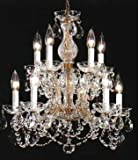 Maria Theresa Crystal Chandelier Chandeliers Lighting H 22″ W 20″ Review