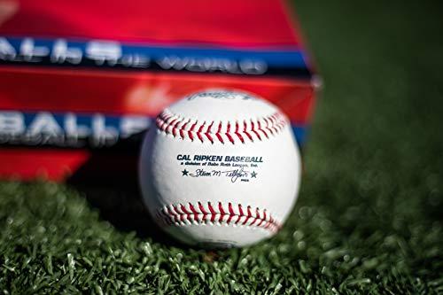 Rawlings 14U Cal Ripken Competition Grade Youth RCAL1 Baseballs 12 Pack