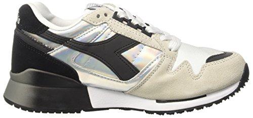Mixte Blanc Cassé Adulte Hologram Ic 4000 Diadora Sneaker Bianco Basses Uq0RXwR