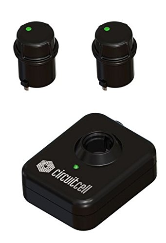 Circuitcell - 2 Rechargeable Batteries & Charging Base Compatible with Charger Invisible Fence Brand Collars by Circuitcell