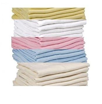 50/cm x 100/cm DuDu N Girlie 100/Prozent Baumwolle Jersey Mini Spannbetttuch f/ür Kinderbett creme