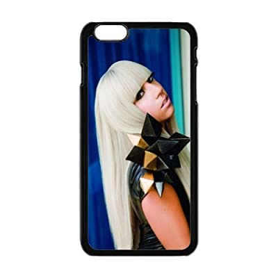 "The super star Lady Gaga for Apple iPhone 6 Plus 5.5""Black Case Hardcore-1"