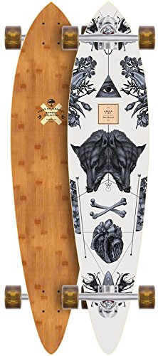 Arbor Fish 37 Bamboo 2017 Longboard Complete New by Arbor