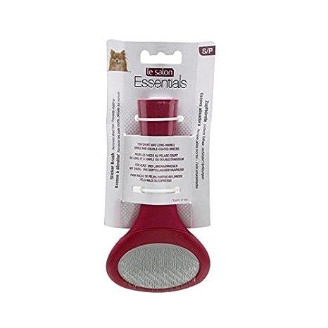 Amazon.com : Le Salon Essentials Dog Slicker Brush, Small : Pet Brushes : Pet Supplies