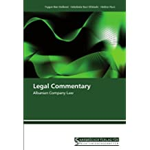 Legal Commentary: Albanian Company Law (German Edition)