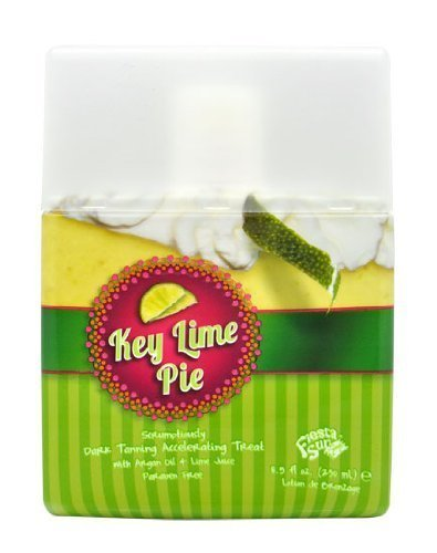 Fiesta Sun Key Lime Pie Dark Tanning Accelerating Lotion Maximizer Tan Bed UV