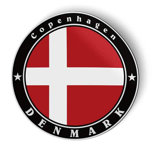 Denmark Flag - Flexible Magnet - Car Fridge Locker - 3