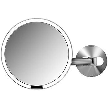 Amazon Com Simplehuman Sensor Mirror Sensor Activated Lighted Makeup Mirror