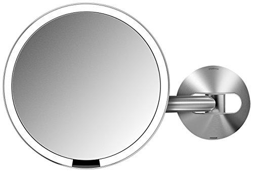 simplehuman Sensor Mirror - Sensor-Activated Lighted Makeup Mirror