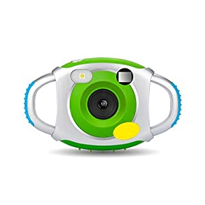 Kids Camera,Powpro Pcam PP-CDFP Kids Creative Camera with Soft Silicone Protective Shell