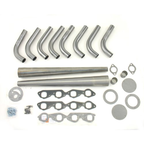 "UPC 694342504199, Patriot Exhaust H8003 1-7/8"" Lakester Exhaust Header Weld-Up Kit"