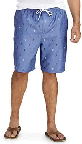 a37c8377c2af7 Amazon Essentials Men's Big and Tall Big & Tall Quick-Dry Swim Trunk fit by