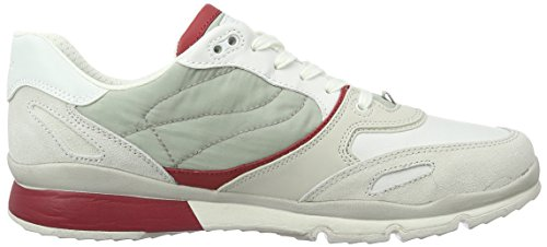 U Sneakers Redc1s7v Hombre Sandford A Papyrus Gris Geox H1wx4gqZ1
