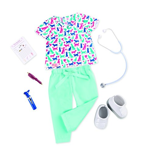 """Our Generation Healthy Paws - Vet Uniform Outfit for 18"""" Dolls"""