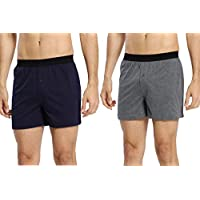 Amazon.com deals on 2-Pack CYZ Mens Multi-Pack 100% Cotton Knit Boxers