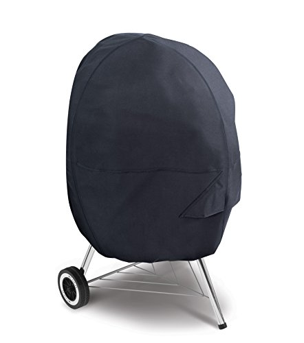 Classic Accessories 55-315-010401-00 Kettle Grill Cover, Black