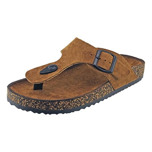 The A Suede Thong Sandal - 8