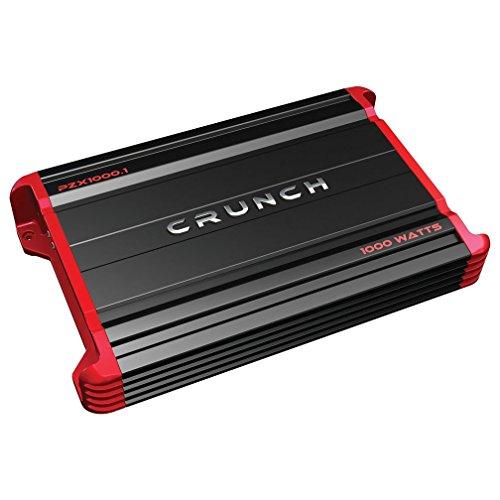 Crunch PZX1000.1 Powerzone Monoblock Class AB Amp, 1,000 Watts