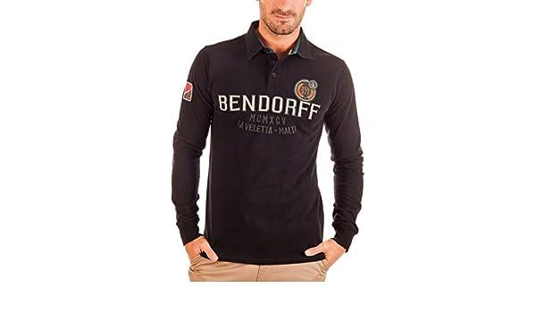 Bendorff Polo Negro L: Amazon.es: Ropa y accesorios