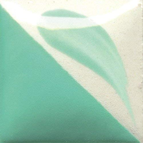 Duncan Concepts Underglaze For Ceramic Bisque, CN 271 - Light Jade, 16 Ounce Pint Bottle