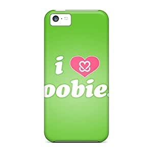 Hard Plastic Iphone 5c Case Back Cover,hot Ilove Bobies Green Case At Perfect Diy