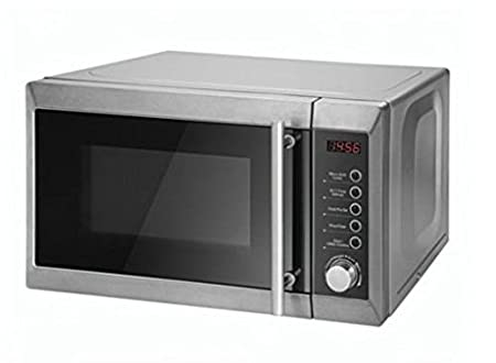Tesco Microwave Oven with Grill MG2011, Silver: Amazon.co.uk ...
