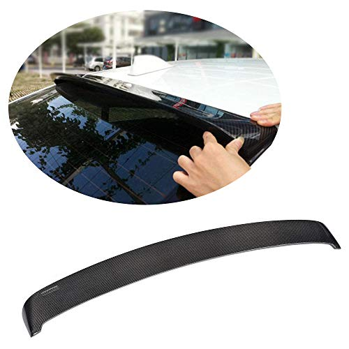 MCARCAR KIT Rear Spoiler fits BMW 5 Series F10 520i 523i 528i 530i 535i 550i M Sport M5 Sedan 2011-2016 Customized Carbon Fiber CF Roof Window Top Wing Lip