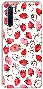 Case Box Strawberry back cover for oppo reno 3