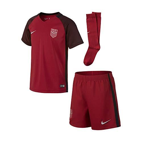 Nike USA Little Kids Third Kit 2017-RED (YS)