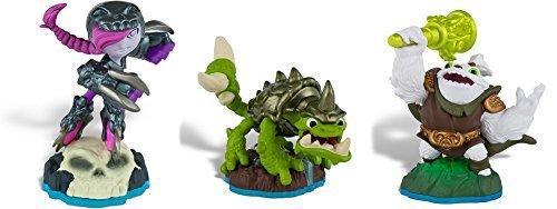 Skylanders Swap Force: Zoo Lou | Roller Brawl | Slobber Tooth - Bundle Pack (Includes 3 Characters)
