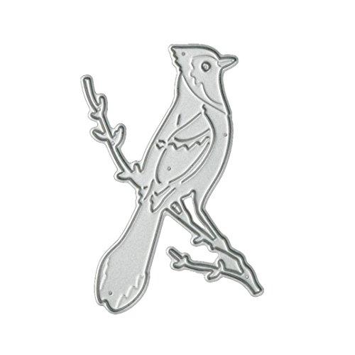 Start Flower & Bird Metal Cutting Dies Stencil Template for DIY Scrapbook Album Paper Card Craft Decoration Die cuts (E)