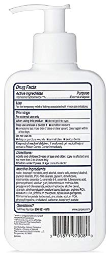 CeraVe Itch Relief Moisturizing Lotion – 8 oz, Pack of 3