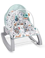 FISHER PRICEGHY58 Deluxe Infant-to-Toddler Rocker,Multi