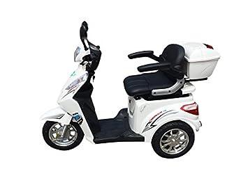 1000 W ESCO tres eléctrico 3 ruedas ESCO tres personas móvil vehículo scpack Electroacústico silla ECO de Ángel 501 negro: Amazon.es: Deportes y aire libre
