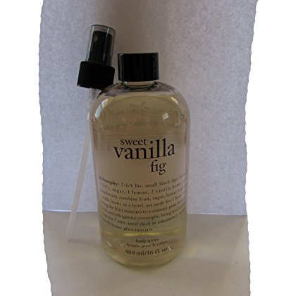 Philosophy Philosophy Sweet Vanilla Fig Body Spritz, 16 Ounces