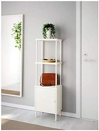 Ikea Dynan Estantería con Armario Blanco 091.833.97 Tamaño ...
