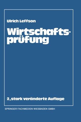Wirtschaftsprüfung (German Edition) by Gabler Verlag