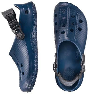 BIRKIS Fun Air Back Strap Clogs Alpro-Cell mit schmalem Fußbett Blue