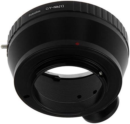 Lens to Nikon 1-Series Camera J1 Mirrorless Cameras Fotodiox Lens Mount Adapter Type 1 fits Pentax Takumar and Zeiss Lenses. fits Nikon V1 Type 1 42mm x1 Thread Screw M42